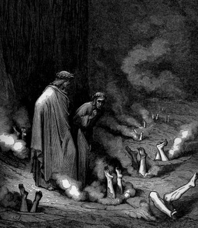 symbolism in dantes inferno